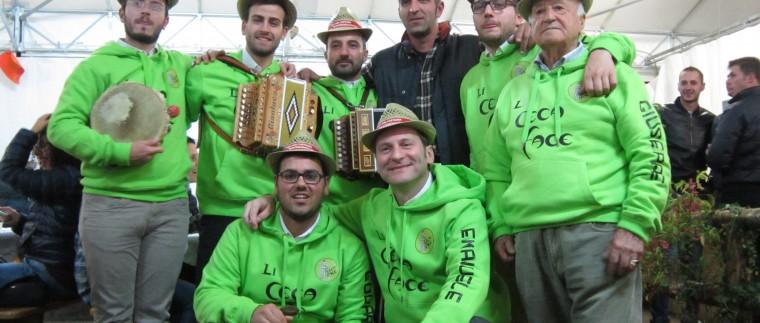 Montomonaco castagnata 2014 saltarello li ceca face gruppo folkloristico marchigiano